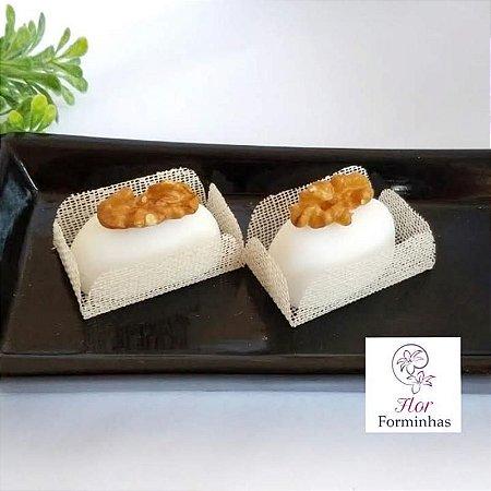 50 Formas para doces para camafeu - Marfim - F017