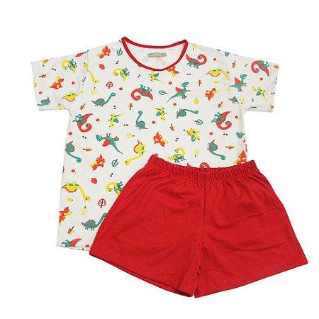Pijama Dinossauro Infantil