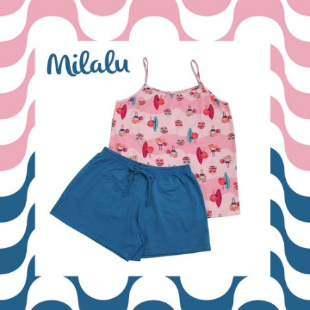 Pijama Short Doll Surfista