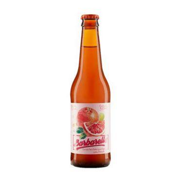 Cerveja Barbarella Fruitbier Pomelo - 355 ml - Caixa 12 unidades
