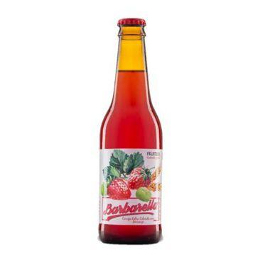 Cerveja Barbarella Fruitbier Morango - 355 ml- Caixa 12 unidades