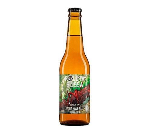 Cerveja Roleta Russa IPA - 355 ml - Caixa 12 unidades