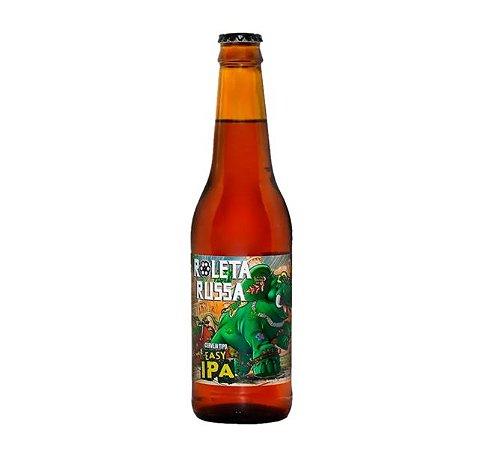 Cerveja Roleta Russa Easy IPA - 355 ml - Caixa 12 unidades