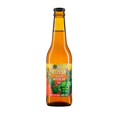 Cerveja Roleta Russa Imperial IPA - 355 ml - Caixa 12 unidades