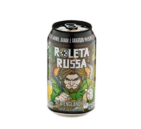 Cerveja Roleta Russa New England IPA - 350 ml - Caixa 12 unidades