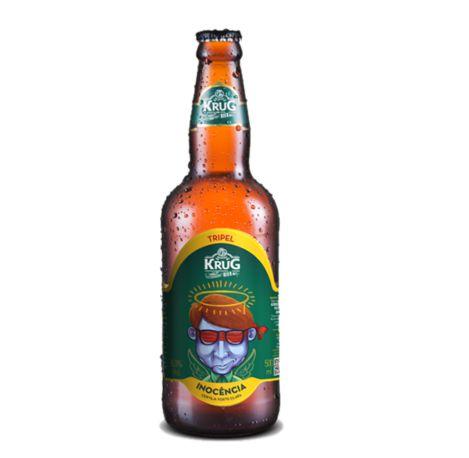 Cerveja Krug Bier Inocência Belgian Tripel - 500 ml - Caixa 6 unidades