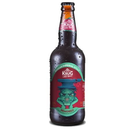 Cerveja Krug Bier Remorso Russian Imperial Stout - 500 ml - Caixa 6 unidades