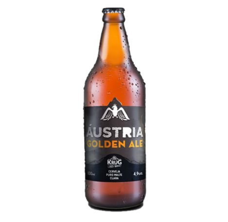 Cerveja Krug Bier Austria Golden Ale - 600 ml - Caixa 12 unidades