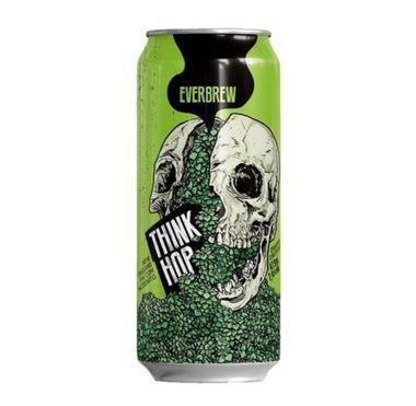 Cerveja Everbrew Think Hop - 473 ml - Caixa 6 unidades