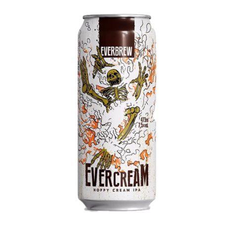 Cerveja Everbrew Evercream - 473 ml - Caixa 6 unidades