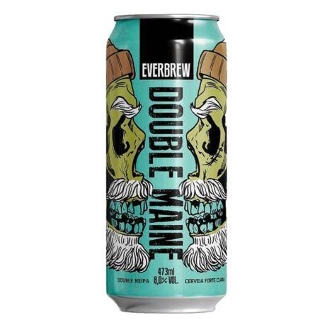 Cerveja Everbrew Double Maine - 473 ml - Caixa 6 unidades
