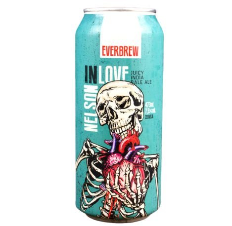 Cerveja Everbrew Nelson In Love - 473 ml - Caixa 6 unidades