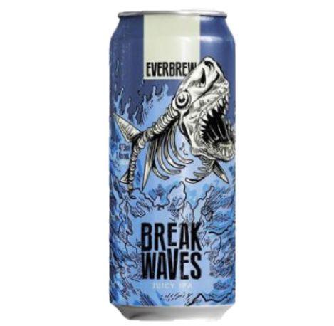 Cerveja Evebrew Break Waves - 473 ml - Caixa 6 unidades