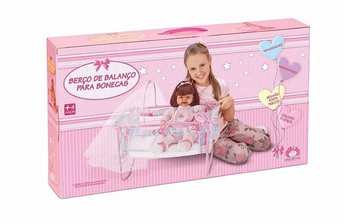 afc54a570ab9 Berço para Boneca Bebe Reborn Laço de Fita - Bonecas Bebê Reborn I ...
