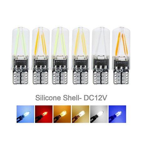 Pingo Filamento com proteção de SILICONE (Cores Variadas)