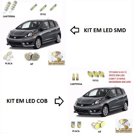 Kit Led Honda Fit 2009 à 2014