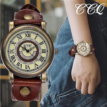 Relógio CCQ Vintage Roma