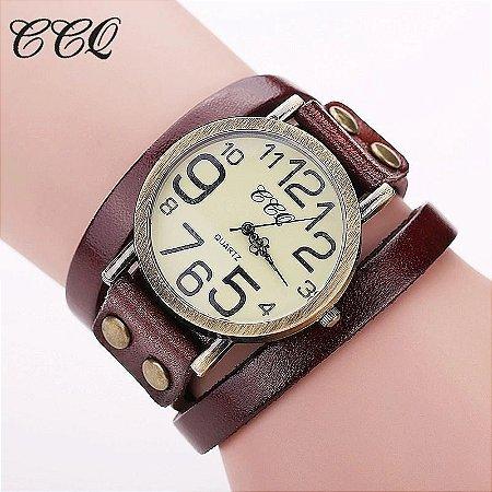 Relógio CCQ Vintage Antique