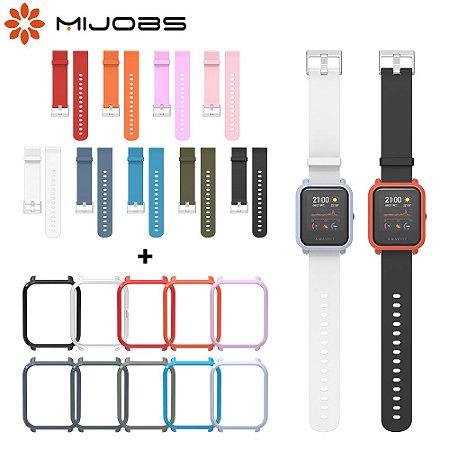 Capa e Pulseira Relógio Smartwatch Amazfit Bip C/gps Modelo A1608