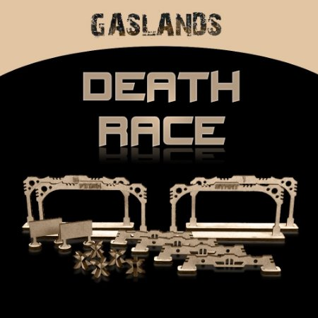 KIT CENÁRIO DEATH RACE GASLANDS
