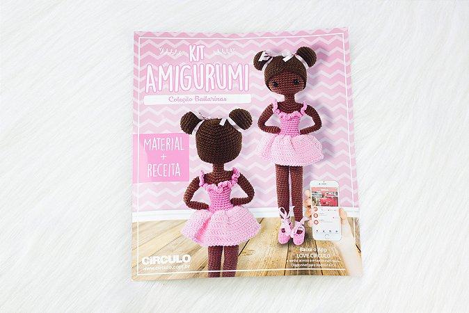 Kit amigurumi Bailarina Rosa