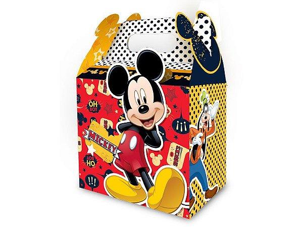 Caixa Surpresa Mickey com 08 unidades