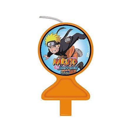Vela Plana Naruto com 01 unidade