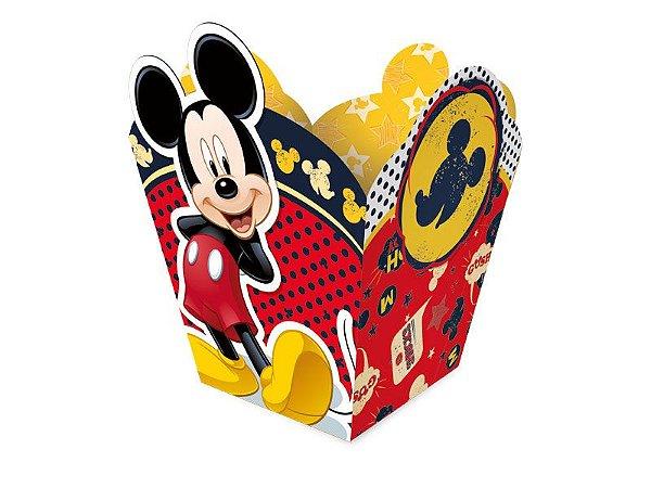 Cachepot Peq Fa Mickey Classico com 08 Unidades