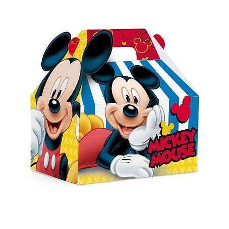 Caixa Maleta Kids Mickey Mouse M 12X8X12 com 10 unidades