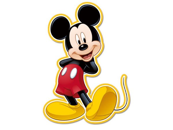 Personagem Decorativo Mickey Clássico