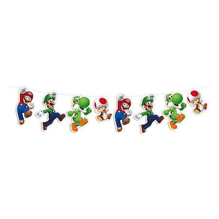 Faixa Decorativa Super Mário