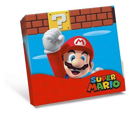 Guardanapo Super Mario 25X25 Com 20 Unidades
