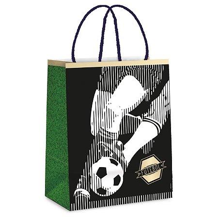 Sacola Lam Futebol P 21,5X15X8 Com 10 Unidades
