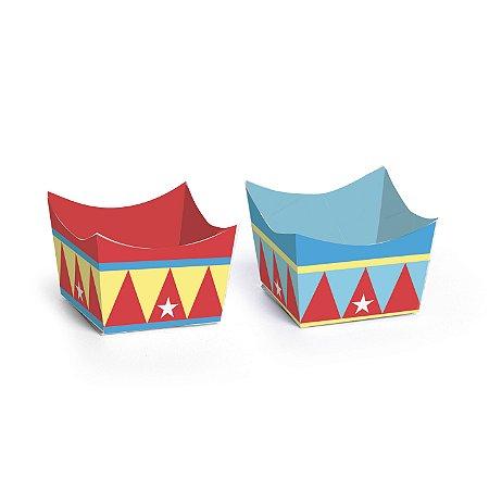 Forma Para Doce Cachepot Compose Circus Com 24 Unidades