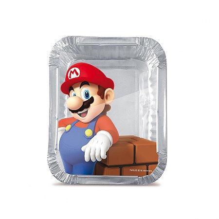 Marmitinha Super Mario M 8,5x6,5x2,5 com 12 Unidades