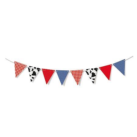 Faixa Decorativa Banderolas Fazedinha