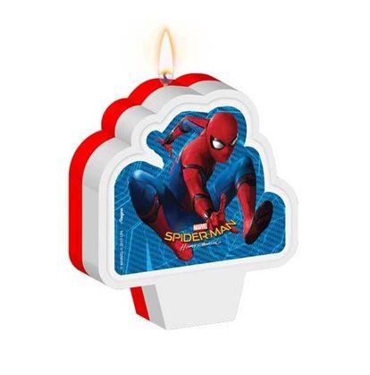 Vela de Aniversário Homem-Aranha