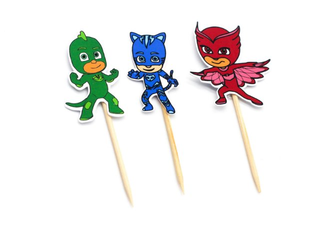 Pick p/ Doces PJ Masks c/10 und