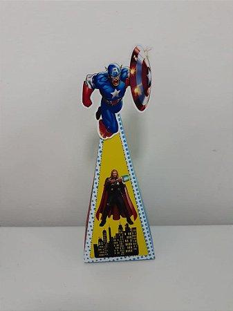 Cone Vingadores com 06 unidades