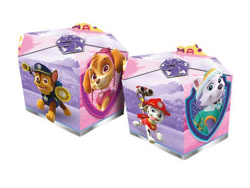 Caixa surpresa Patrulha Canina Rosa com 08 unidades