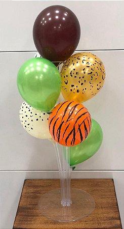Suporte para balão 40cm transparente