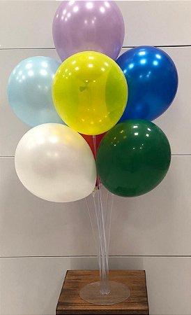 Suporte para balão 70cm transparente