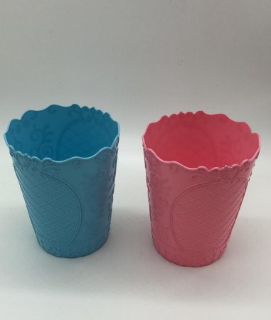 Cachepot rosa, azul ou branco 11x13,5