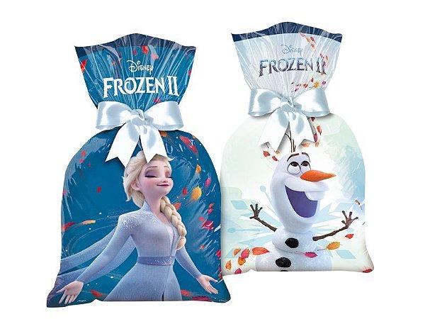 Sacola Surpresa Frozen II com 08 unidades