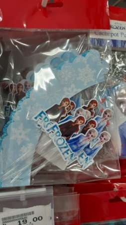 Kit para cupcake Frozen II com 06 unidades