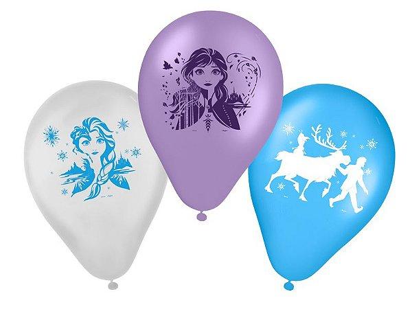 Balão Frozen II 9' com 25 unidades