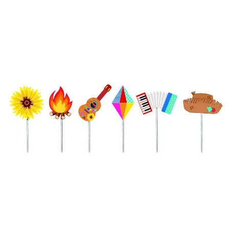 Pick decorativo Festa Junina