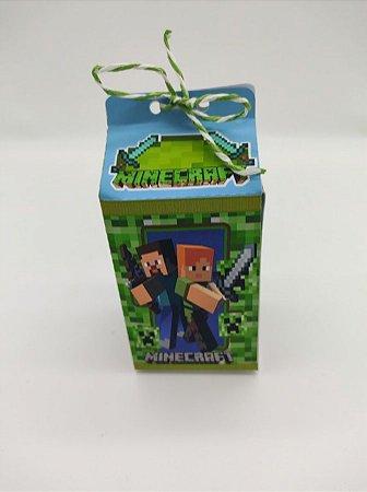 Caixa Milk Minecraft com 06 unidades