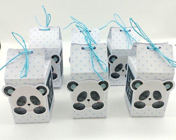 Caixa Milk Panda Azul com 06 unidades