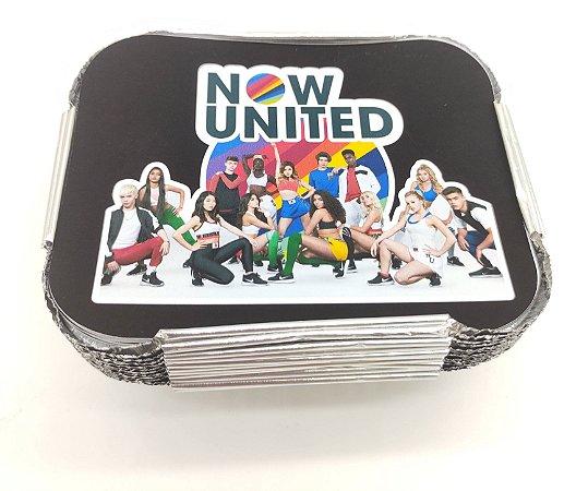 Marmita M Now United com 12 unidades